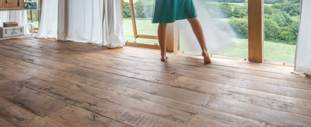 Heritage Oak floorboards